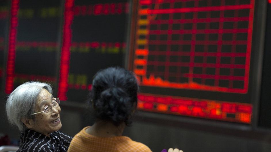 Čínská burza po drastických vládních opatřeních posílila.