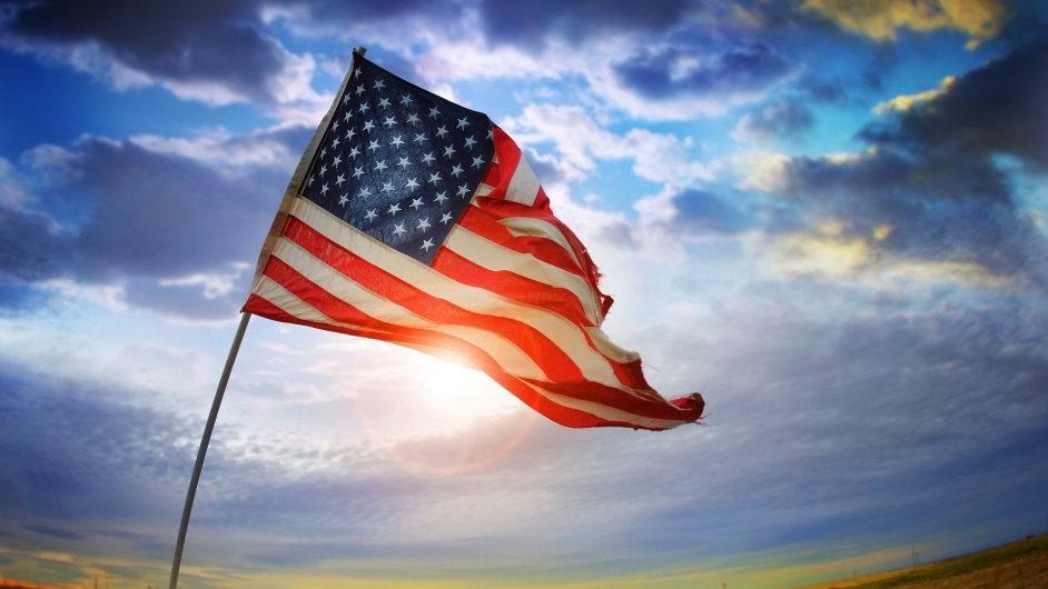Americká vlajka, USA