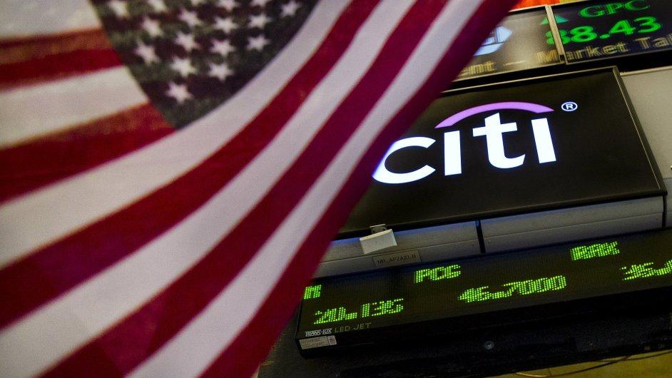 Akcie Citigroup reagovaly na dobré výsledky růstem.