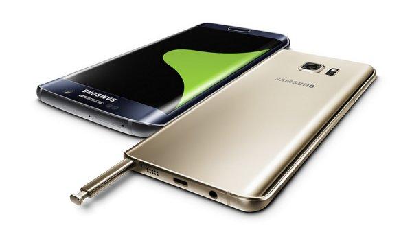 Ilustra�n� foto; Samsung Galaxy S6 Edge a Note 5