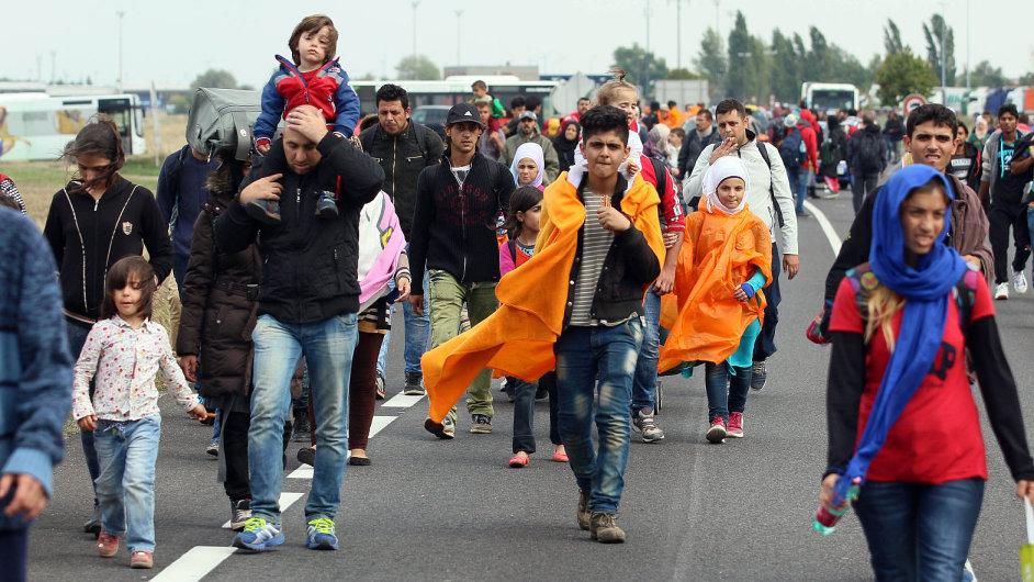 Běženci - ilustrační foto.