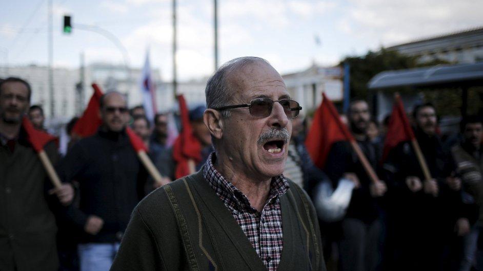 Řekové stávkují.