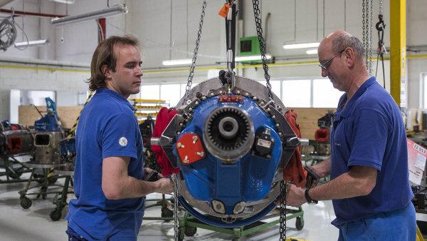 GE Aviation Czech v sou�asnosti vyv�� leteck� motory, kter� poh�n�j� t�eba pr�kovac� letadla v Ji�n� Americe.