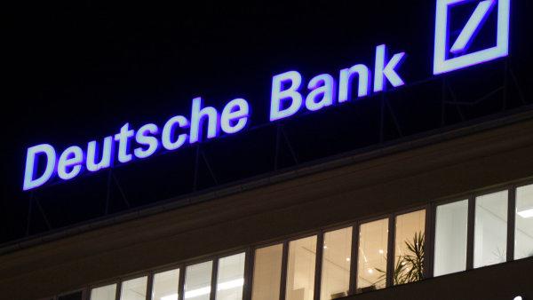 Deutsche Bank �ek� kv�li jednor�zov�m n�klad�m rekordn� ztr�tu - Ilustra�n� foto.