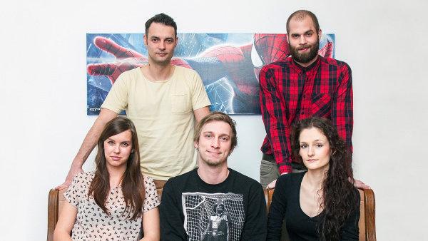 Do McShakespeare nastoupili (zleva): Dominika Cigánková, Ondřej Nečas, Adam Kořínek, Darek Černý a Nina Černá