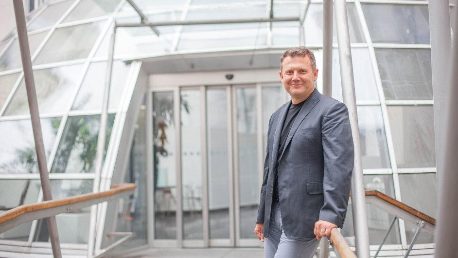 Ředitel Moravie IT Tomáš Kratochvíl.
