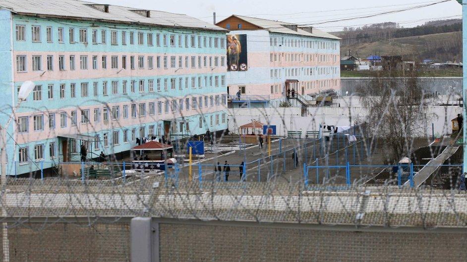 Věznice poblíž města Krasnojarsk, Sibiř
