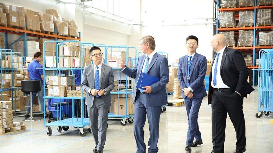Nový celní sklad Cargo-partner má plochu 3700 metrů čtverečních