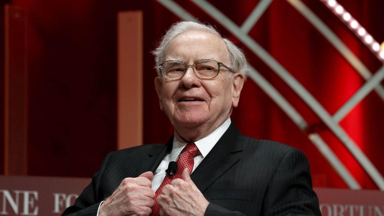 Odpůrce internetu? Warren Buffett investuje do budoucnosti.
