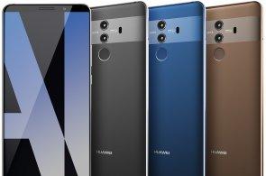 Huawei chystá hned čtveřici telefonů Mate 10, na fotkách se ukázala hlavní varianta 10 Pro