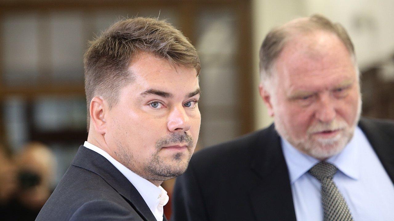 Marek Dalík a Tomáš Sokol.