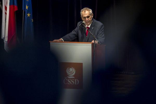 ČSSD, Zeman