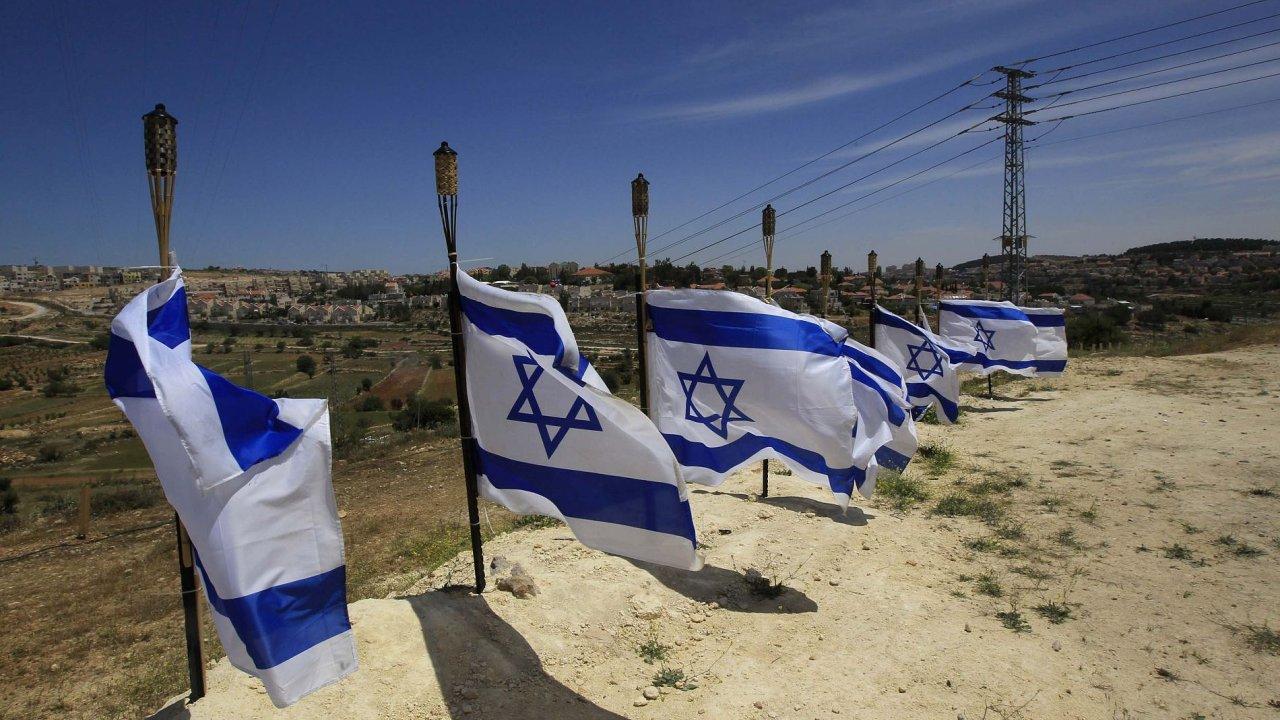 Izraelské vlajky