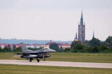 Čáslav hostila cvičení Sky Avenger. Letouny strávily ve vzduchu 215 hodin