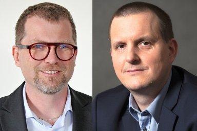 Jan Doleček a Marcel Vyzibla, manažerský tým společnosti Solvent ČR