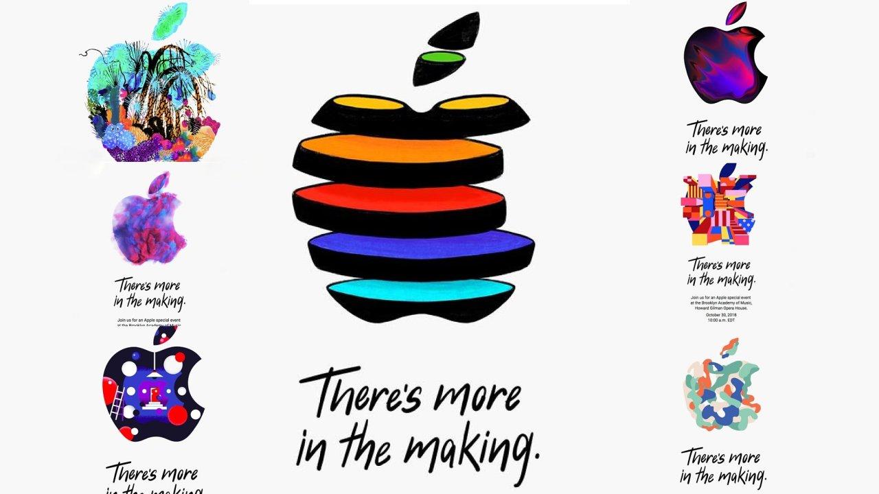 Apple na představení novinek rozeslal různým médiím pozvánky s rozdílnou grafikou