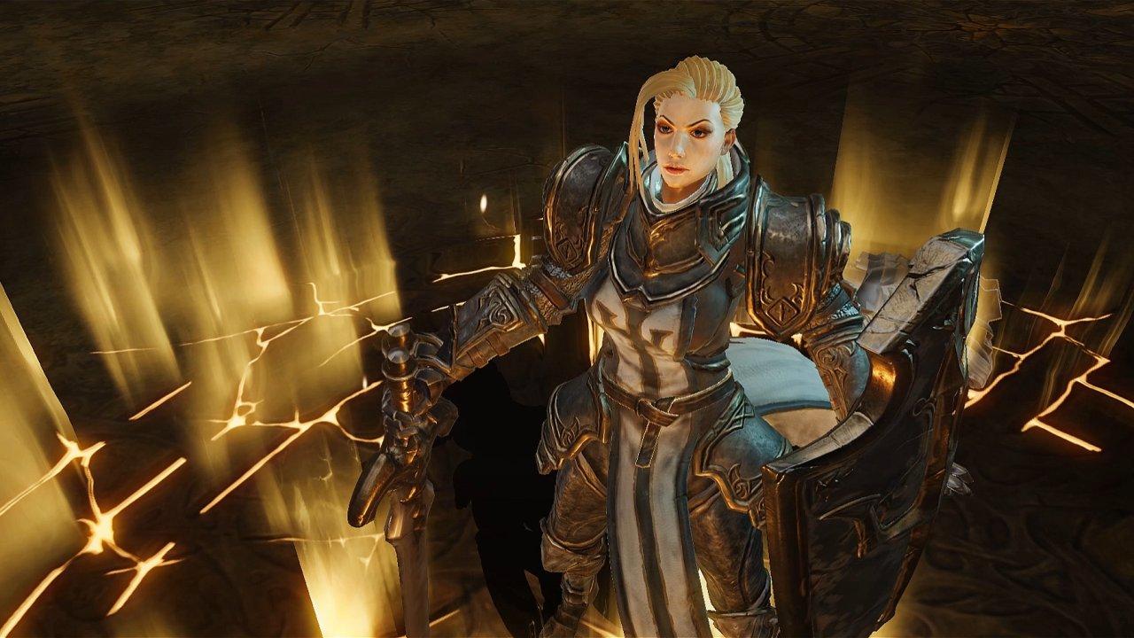 Diablo immortal postava crusader