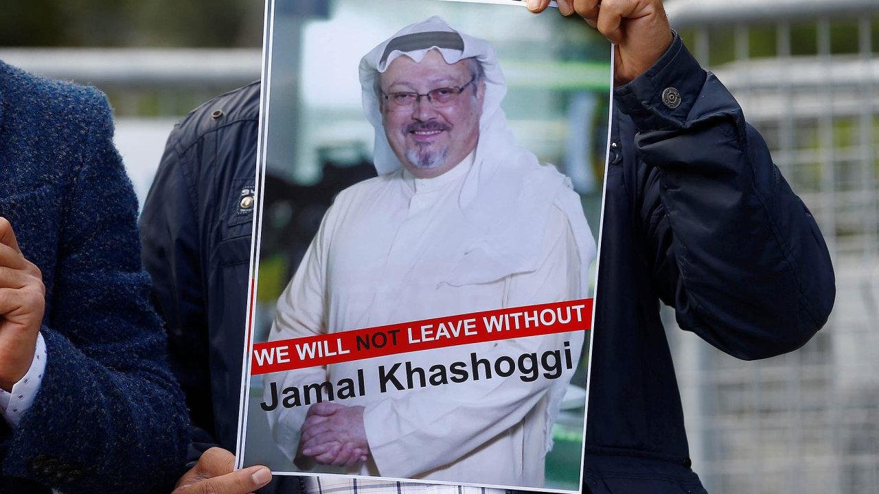 Oběť saúdské zvůle. Novinář Džamál Chášukadží byl zavražděn, tělo zmizelo.