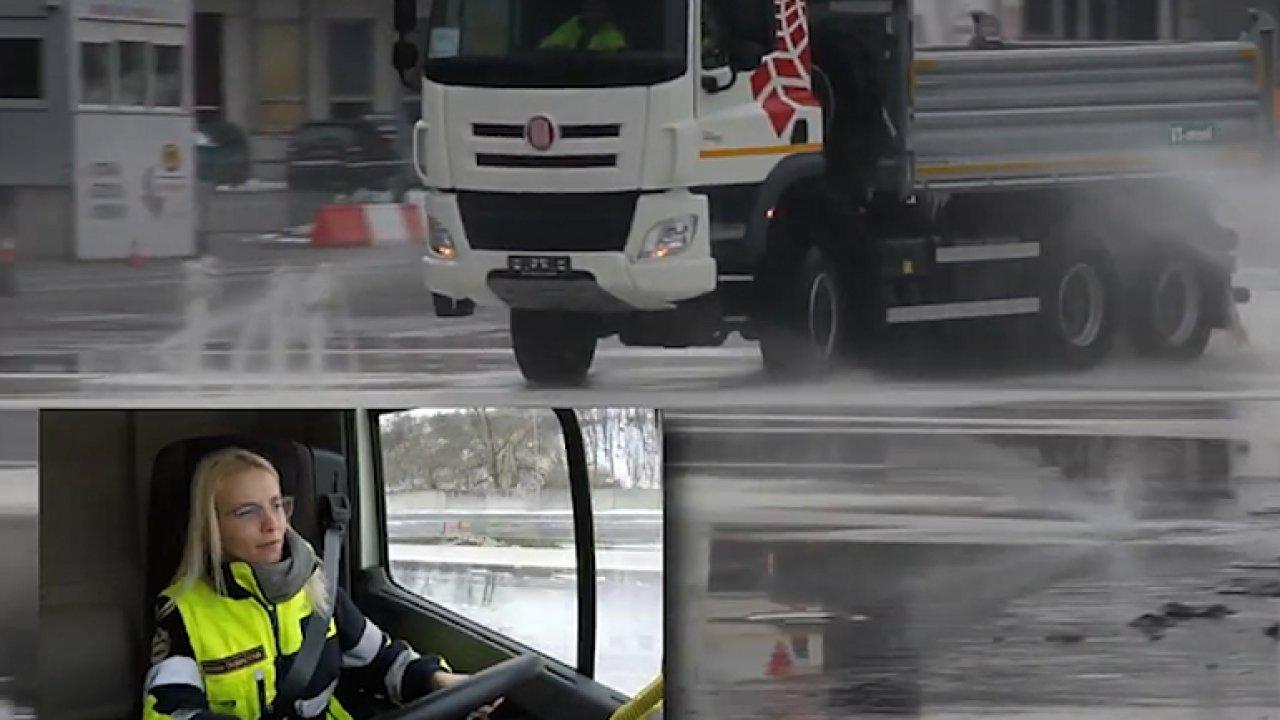 Dobrovolná hasička brilantně zvládla krizovou situaci za volantem Tatry