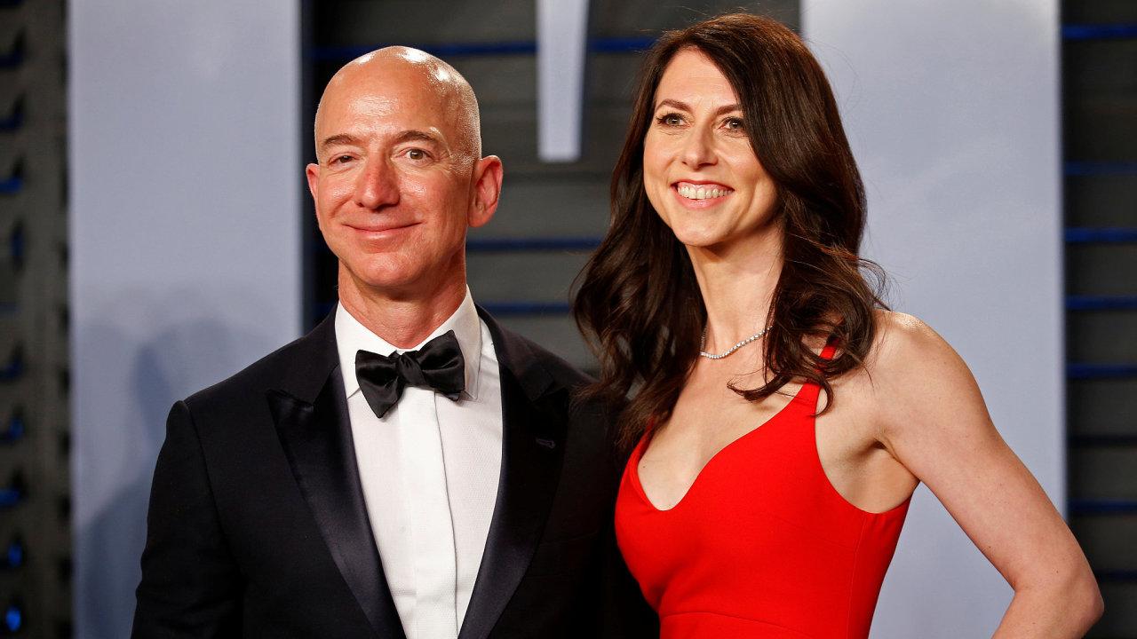 Jeff Bezos, MacKenzie Bezosová, Amazon