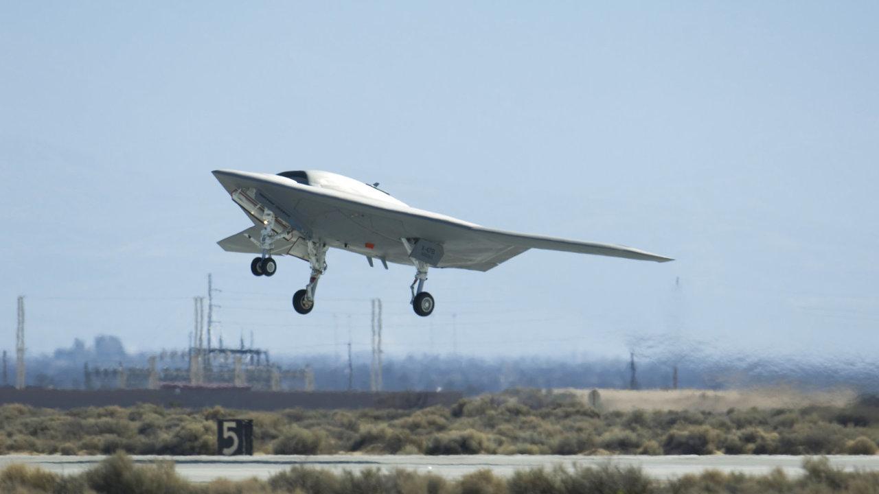 Bezpilotní letoun X-47B