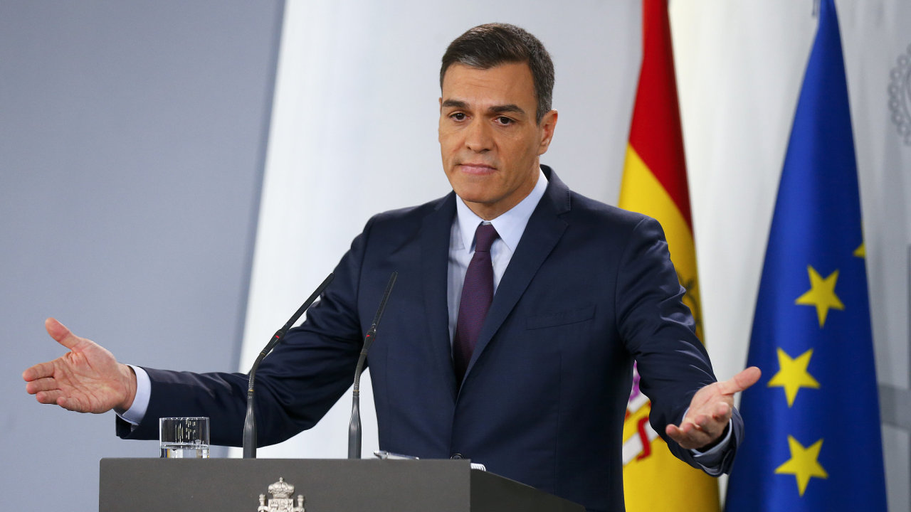 Španělský premiér Pedro Sánchez oznámil, že budou předčasné parlamentní volby.