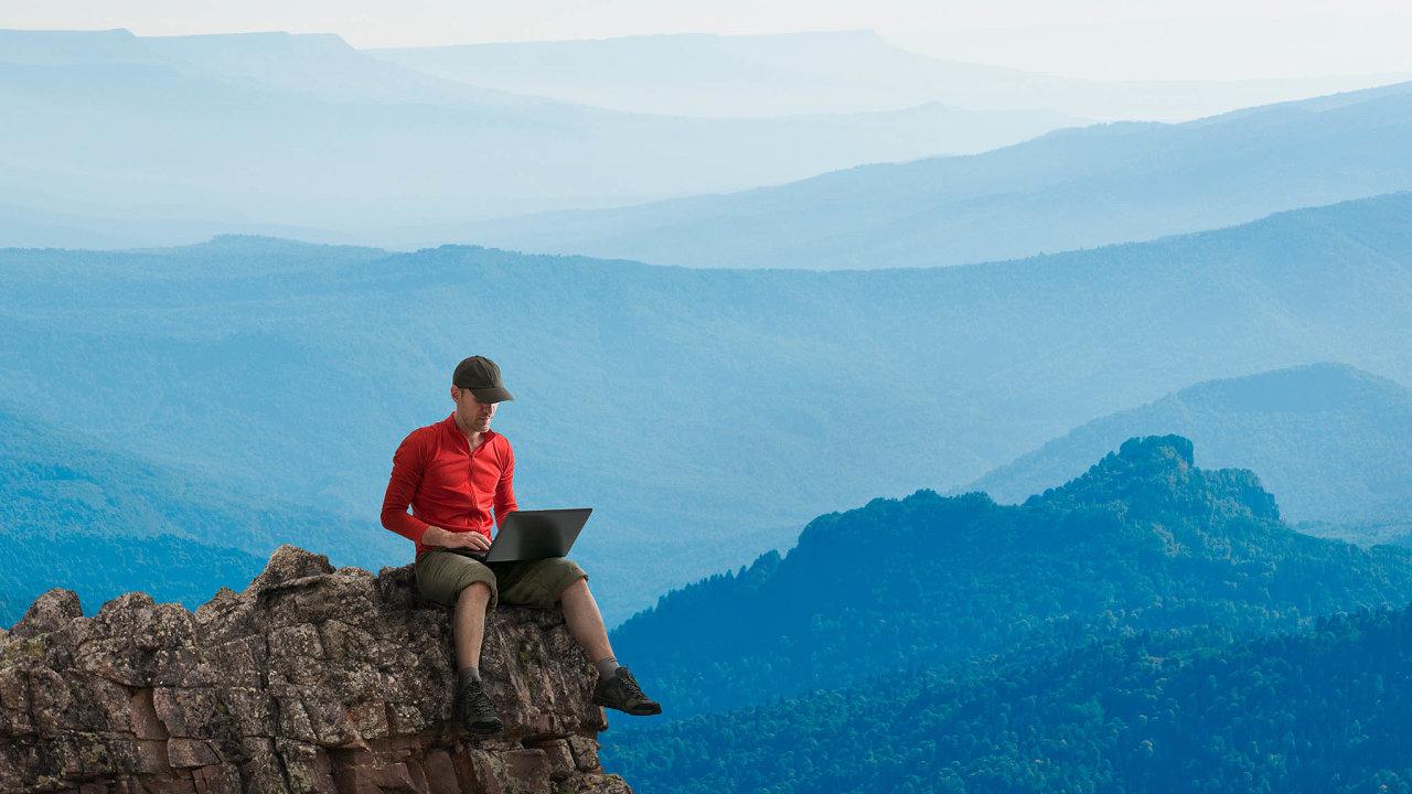 Když pracujete nadálku, je dobré jít ven, míní odborník na home office.