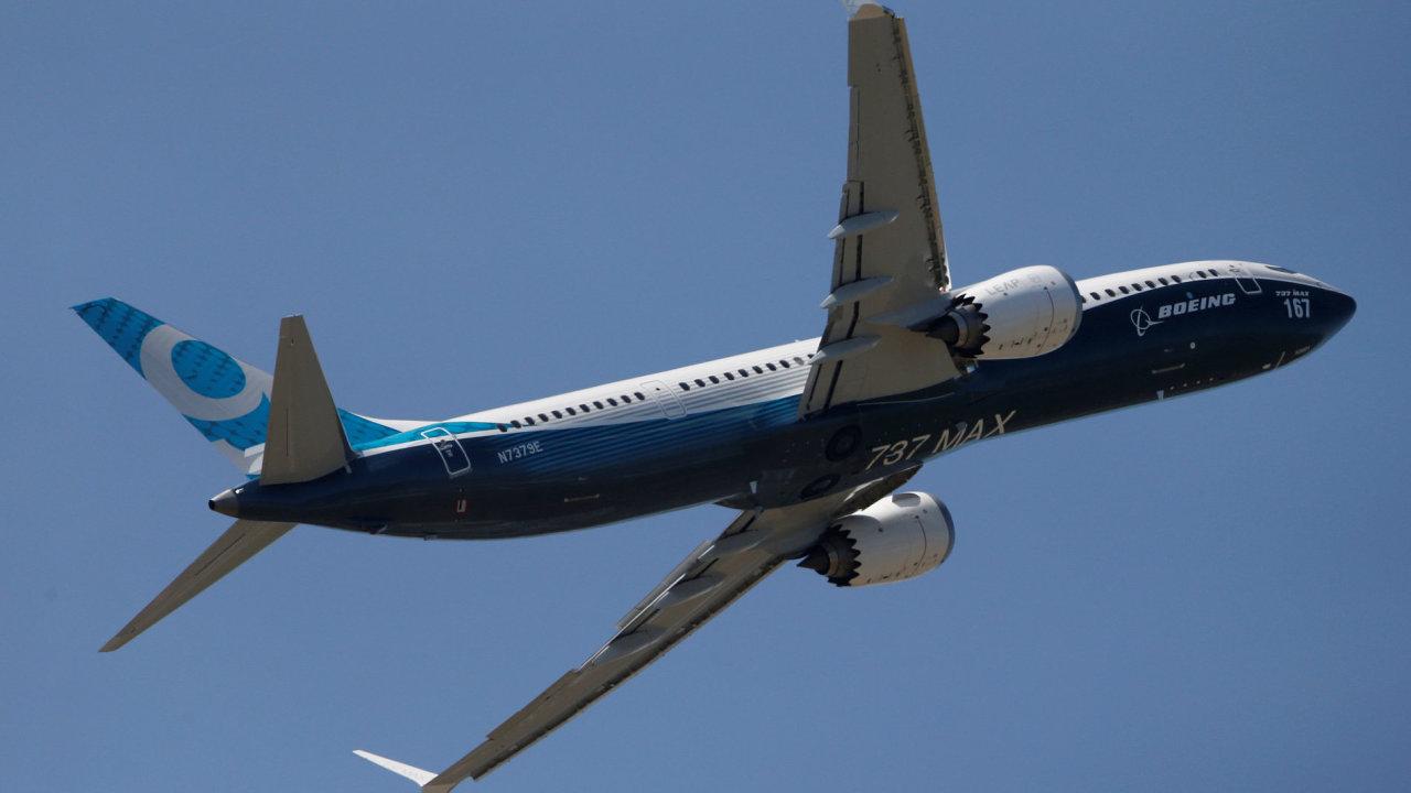 Nový model 737 MAX 10 od společnosti Boeing.