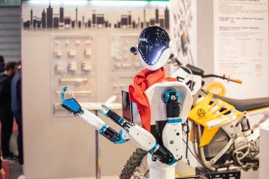 Veletrh ve znamení digitalizace: Nový elektromobil od Škody, digitální továrna, roboti i obří 3D tiskárna