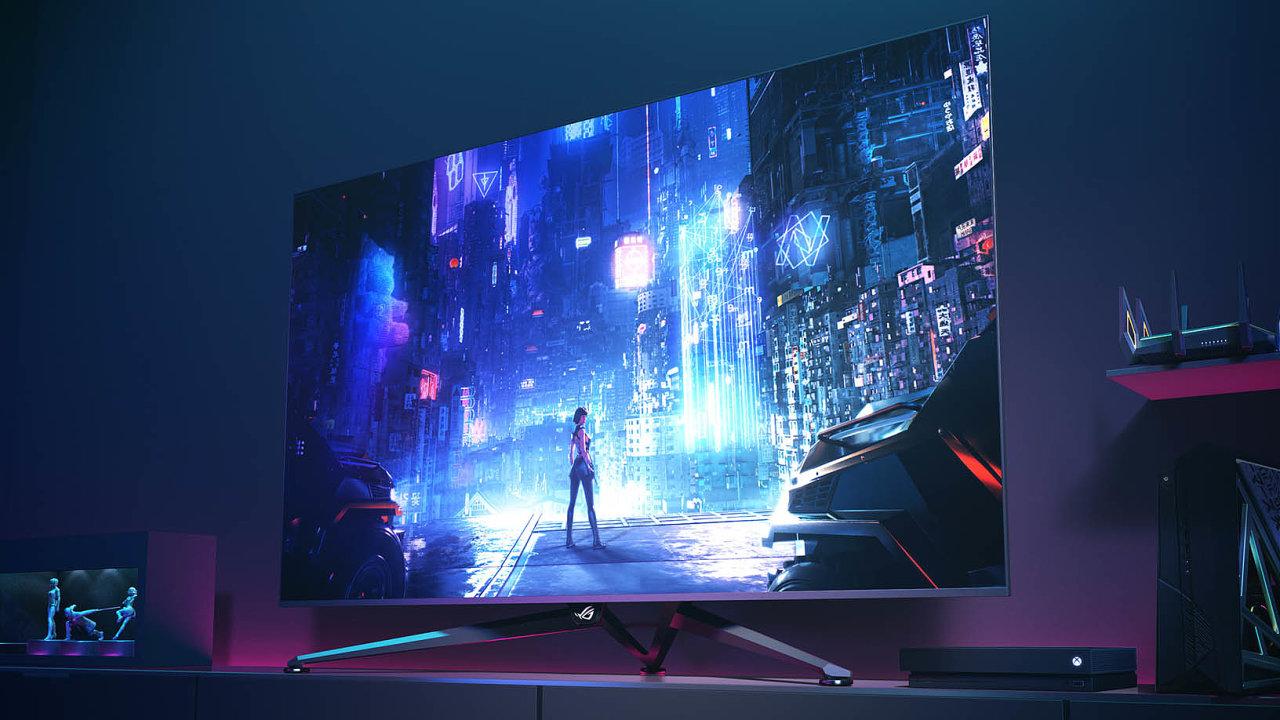 Asus jako první výrobce uvádí natrh nový typ počítačového displeje kříženého s televizí označovaný jako Big Format Gaming Display.