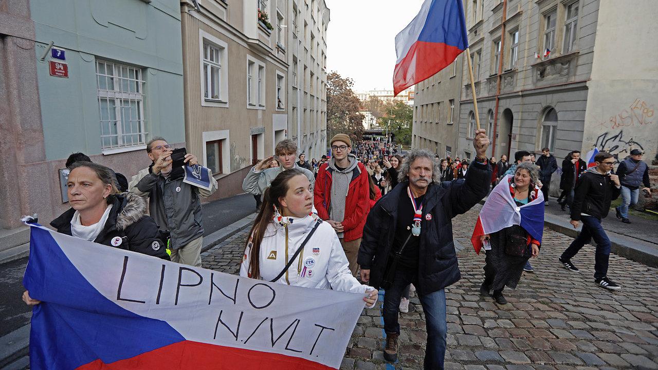 17.11.19. Praha průvod