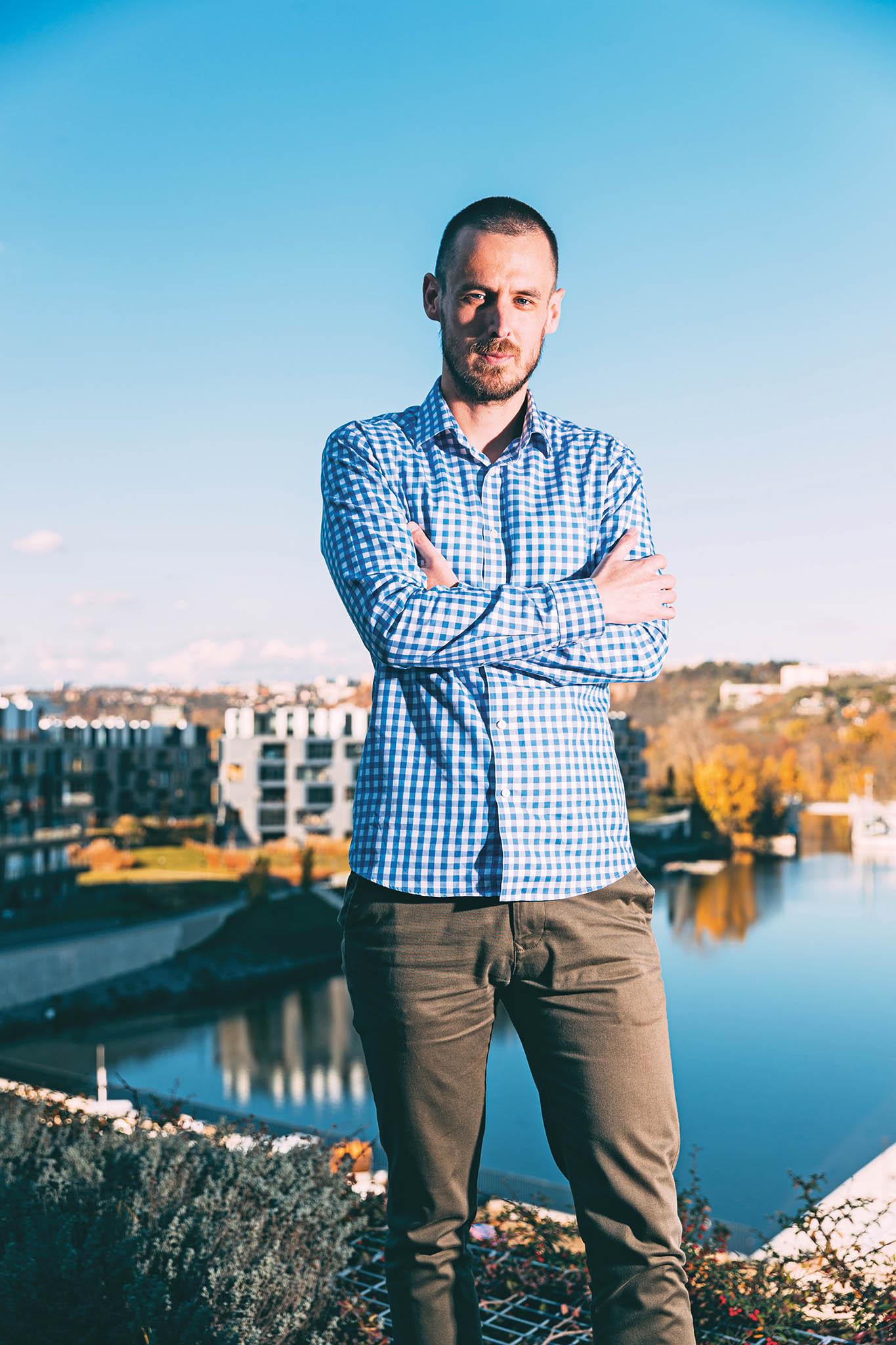 Marketingový ředitel firmy Dáme jídlo Břetislav Stromko