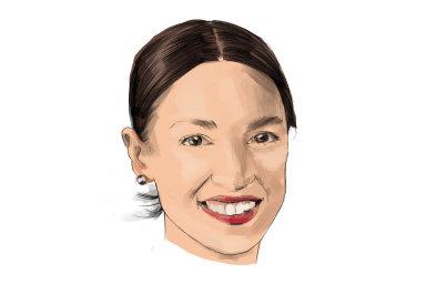 Členka amerického Kongresu zademokraty Alexandria Ocasio-Cortezová