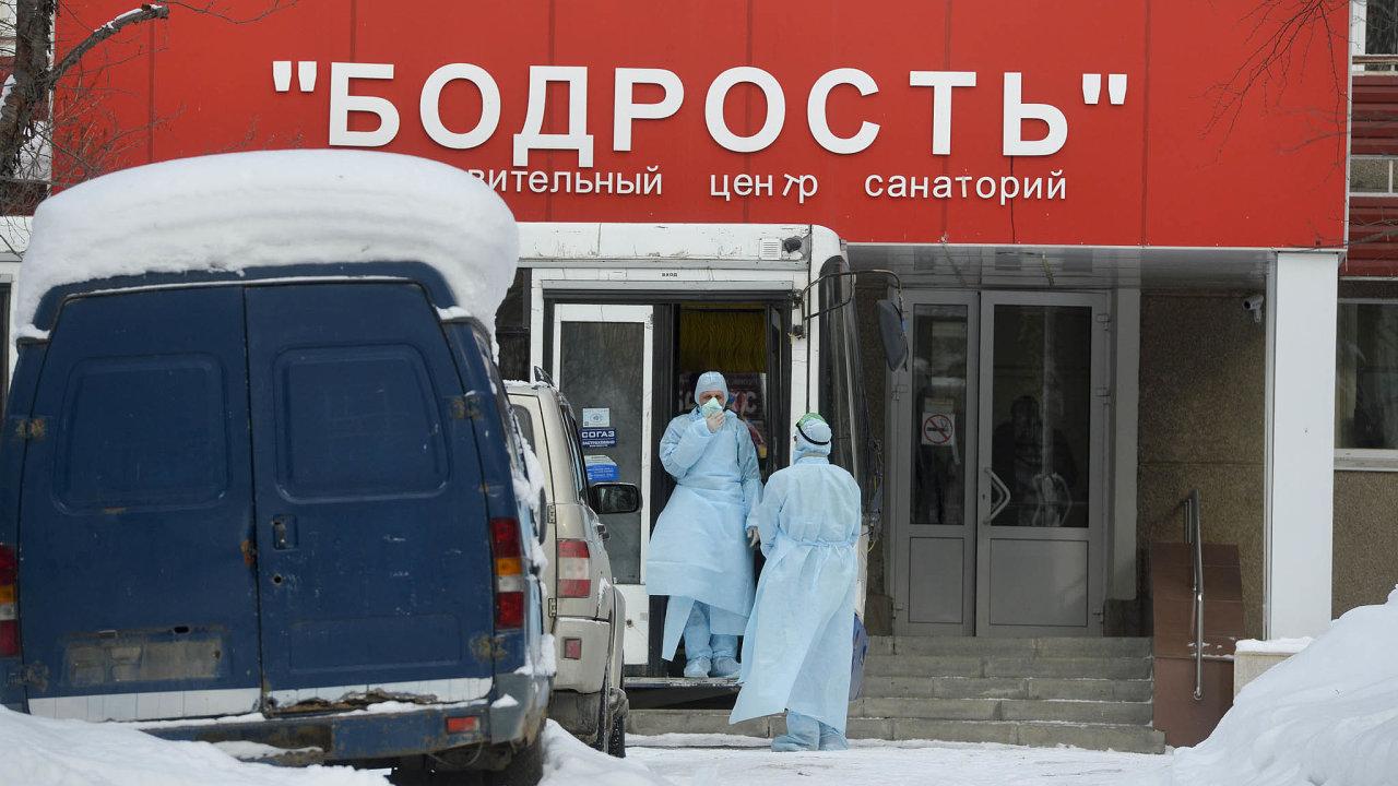 Sanatorium Bodrost. Léčebnu uJekatěrinburgu úřady vyčlenily pro hospitalizaci Číňanů skoronavirem.