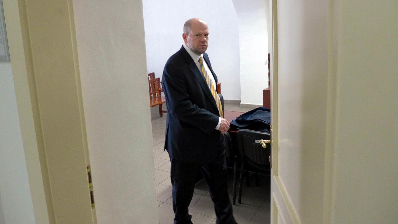 Exprezident Hospodářské komory Petr Kužel – dvakrát pravomocně odsouzený, ale nakonec očištěný.