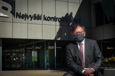 Prezident Národního kontrolního úřadu Miloslav Kala.