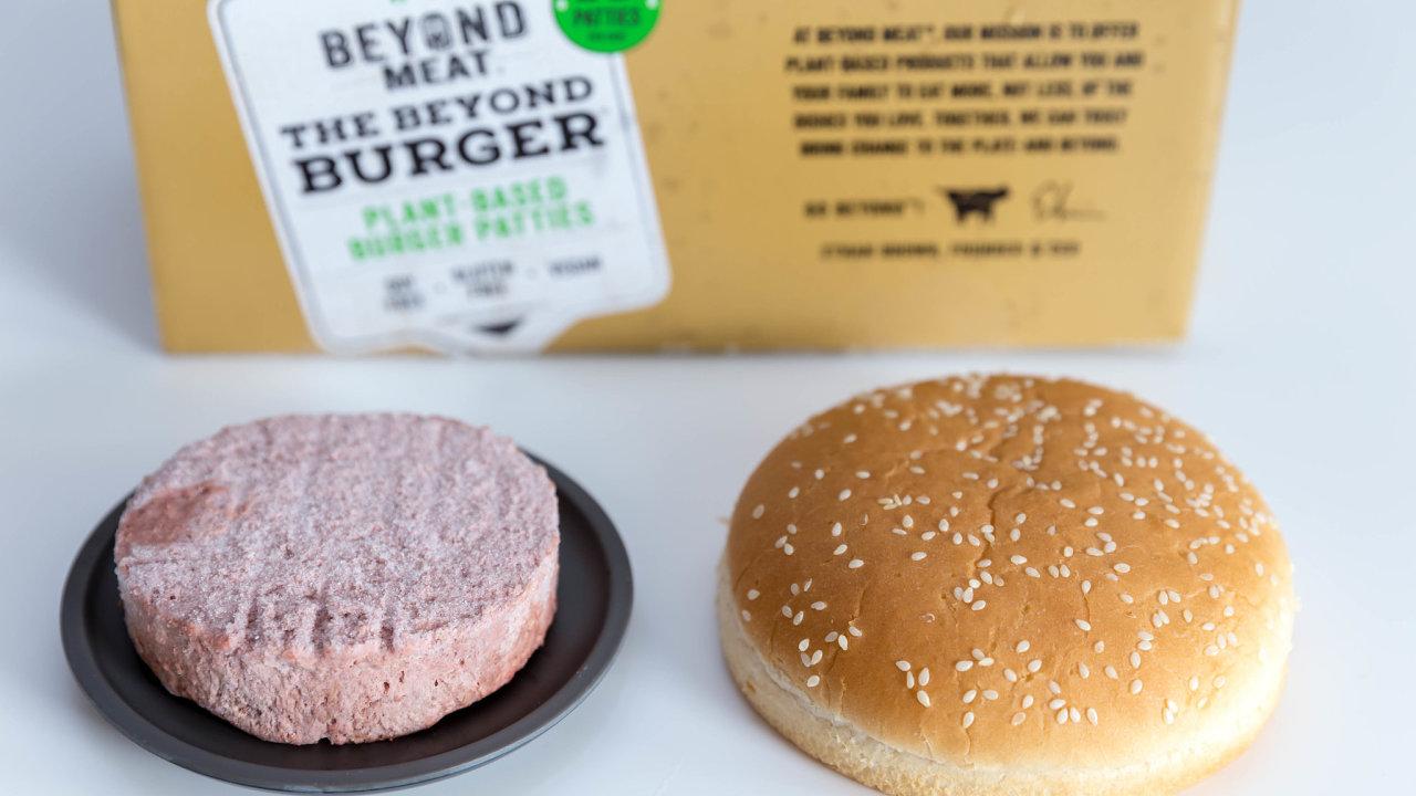 Bezmasým burgerům se v době epidemie v USA daří.