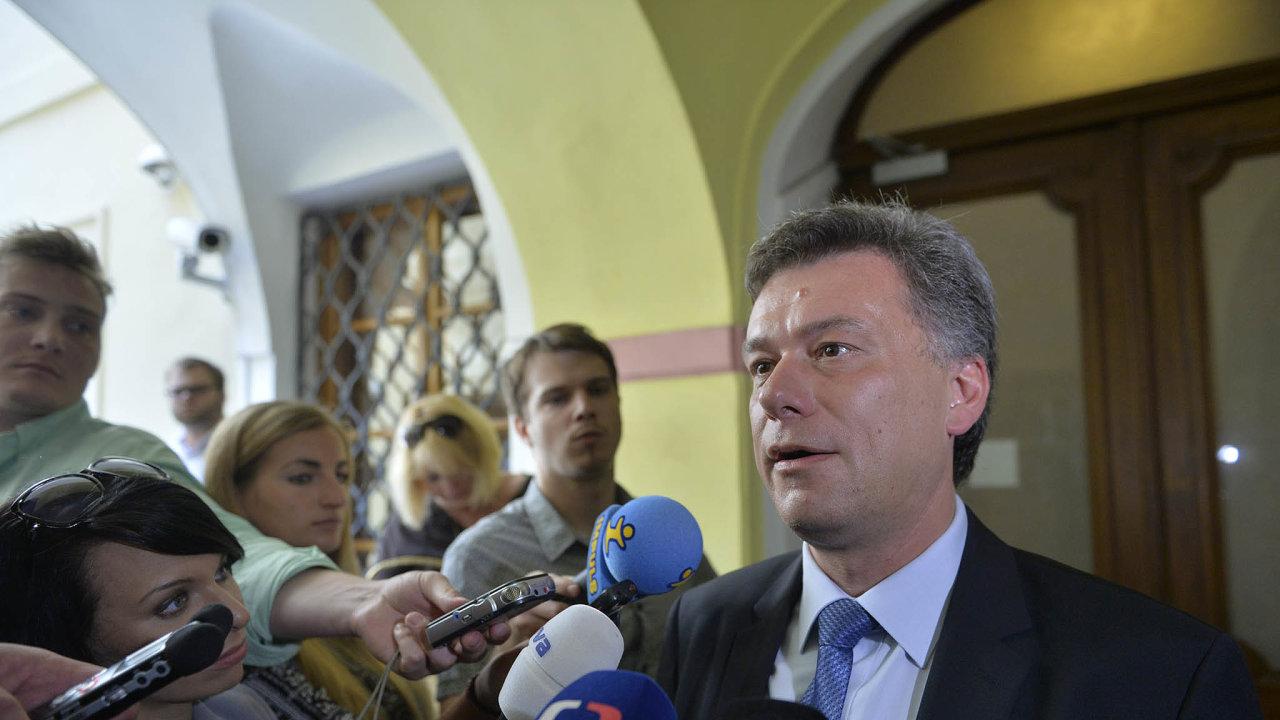 Hlava mašinerie: Exministr spravedlnosti Nečasovy vlády Pavel Blažek byl údajně hlavou promyšleného systému kupčení s nemovitostmi v Brně.