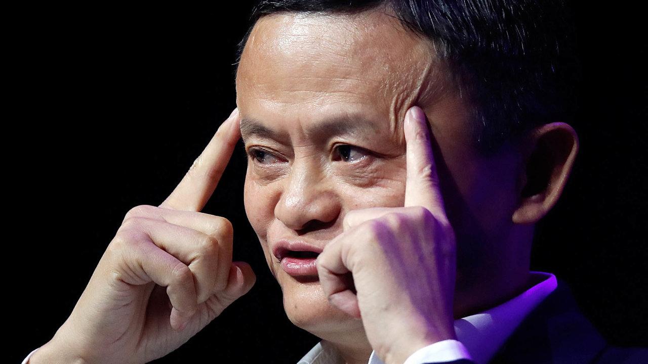 Jack Ma byl v říjnu kritizoval přílišnou regulaci byznysu ze strany čínských úřadů. Od té doby není jasné, kde se zakladatel e-shopu Alibaba nachází.