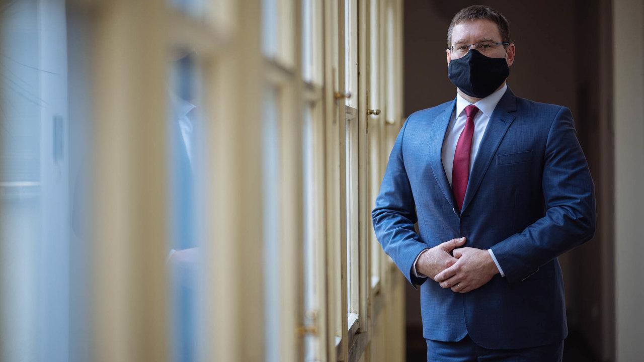 Jan Prachař, ředitel Správy úložišť radioaktivních odpadů