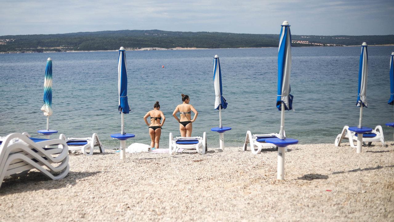 Chorvatsko a Řecko jsou nejpopulárnější přímořské cíle Čechů.