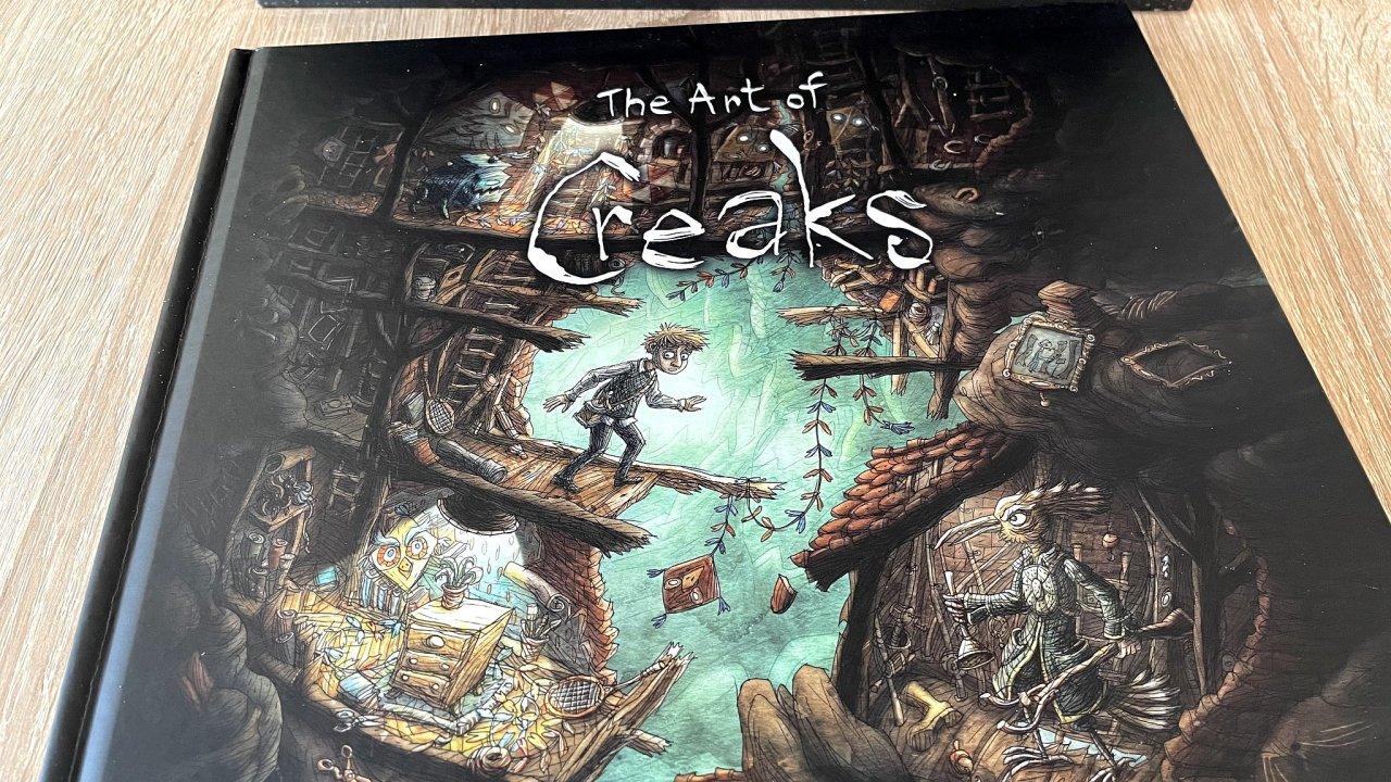 The Art of Creaks ukazuje naplno řemeslo a umění za nejnovější hrou studia Amanita Design