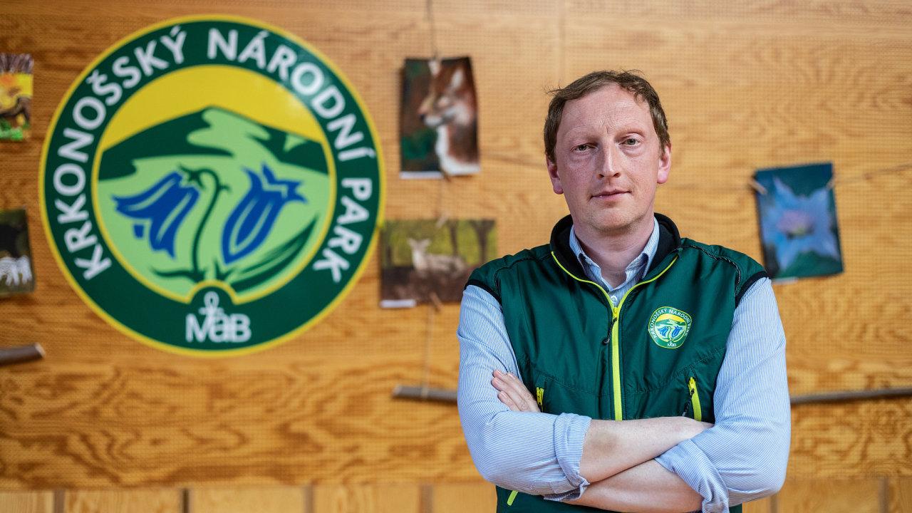 Robin Böhnisch, ředitel Krkonošského národního parku (KRNAP)