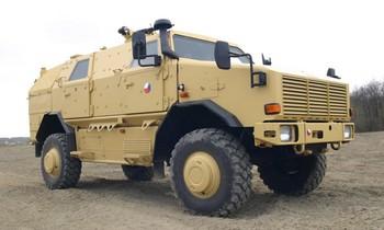 Dingo - transportér, vojáci, Afghánistán