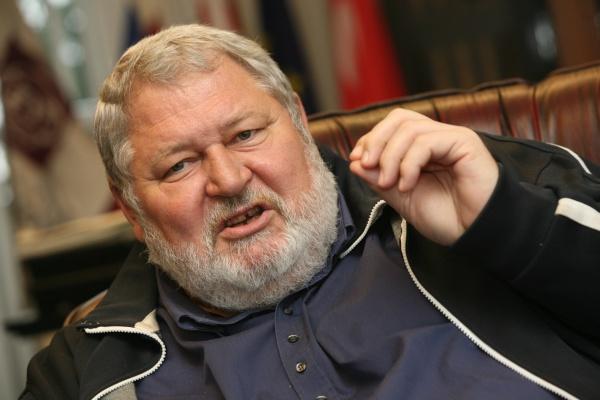 Generálny riaditeľ Železiarne Podbrezová Vladimír Soták. HN/P.Mayer