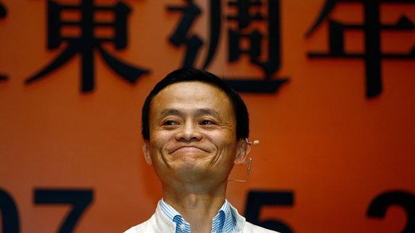 Jack Ma, zakladatel spole�nosti Alibaba