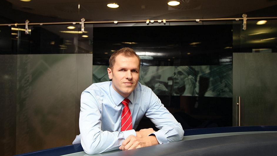 Hlavní analytik Patria Finance Tomáš Sýkora