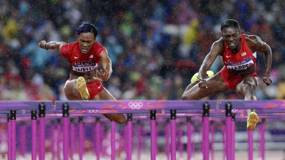 OH Londýn 2012: Semifinále závodu na 100 m překážek žen