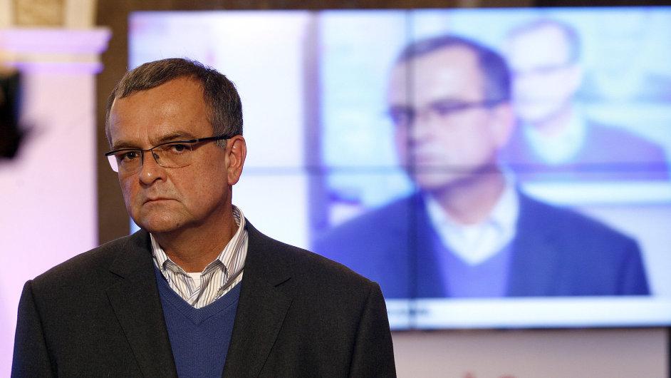 Místopředseda TOP 09 a bývalý ministr financí Miroslav Kalousek