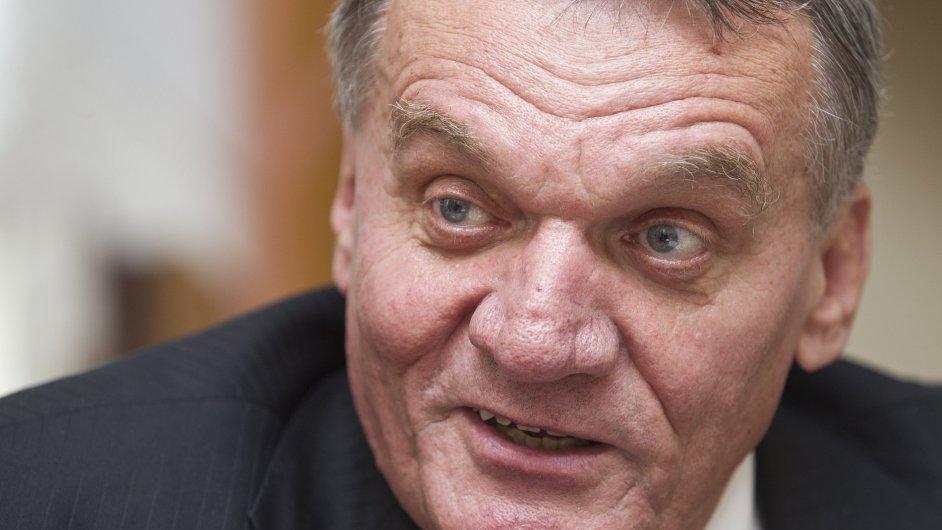 Bývalý primátor Bohuslav Svoboda